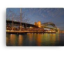Sydney Harbour Bridge @ Dusk Canvas Print