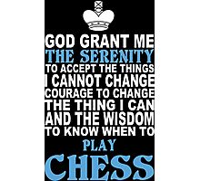 Limited Edition Chess Tshirts Photographic Print