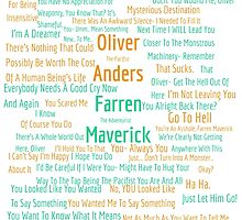 Oliver/ Farren Quotes (Contains Spoilers?) by expandingmind