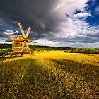 windmill by Valerii Baryspolets