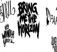 Awesome Bands Sticker