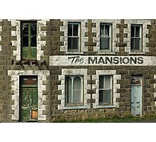 The Mansions Photographic Print