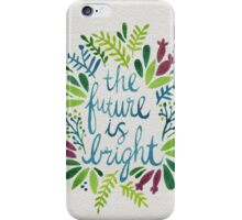 The Future is Bright – Watercolor iPhone Case/Skin