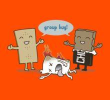 Funny S'mores - GROUP HUG! Kids Tee