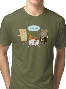 Funny S'mores - GROUP HUG! Tri-blend T-Shirt