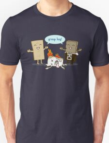 Funny S'mores - GROUP HUG! Unisex T-Shirt