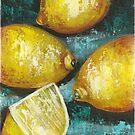 Lemons by Pamela Plante