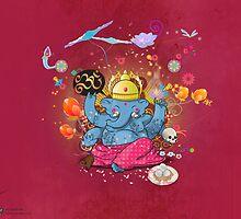 Ganesha by Archan Nair