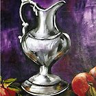 Silver Pitcher by Pamela Plante