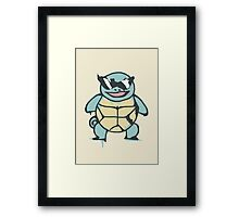 Ash's Squirtle (Squirtle Squad Leader) Framed Print