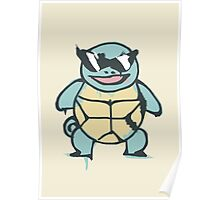 Ash's Squirtle (Squirtle Squad Leader) Poster