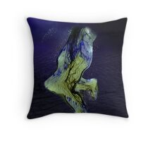 BLUE BLOOD Throw Pillow