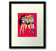 Sailor Moon crew Framed Print