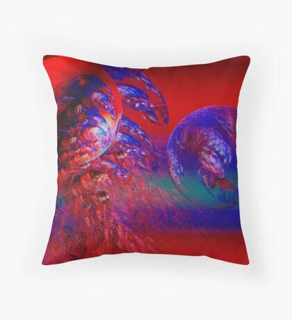 Cosmic moods Throw Pillow
