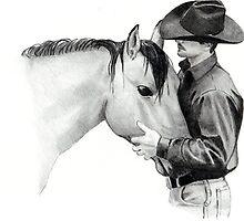 The Horse Trainer, No. 2 by Joyce Geleynse