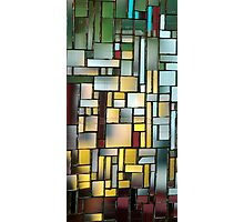 Multicoloured square 1 Photographic Print