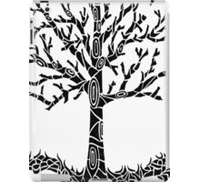 Tree Black iPad Case/Skin