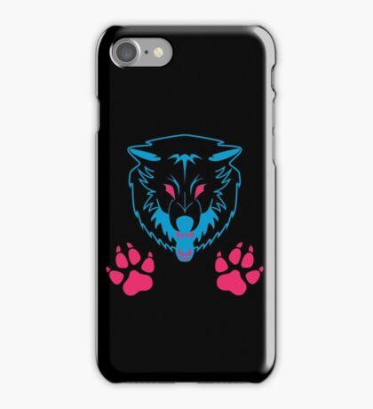 Neon Wolf iPhone Case/Skin