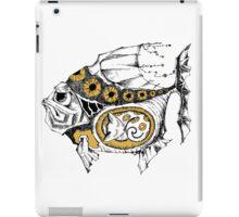 magic fish with a kitten inside iPad Case/Skin