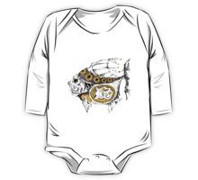 magic fish with a kitten inside One Piece - Long Sleeve