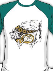magic fish with a kitten inside T-Shirt