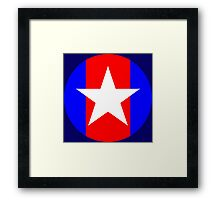 Captain Sweatpants Framed Print
