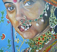 Indian Lady by Deborah Boyle