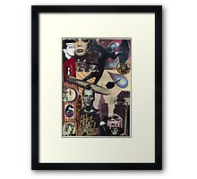 A Heavenly Dystopia Framed Print