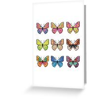 Lovely Butterflies Greeting Card