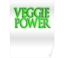 VEGGIE POWER, Vegetarianism, Vegetarian, Vegan, Vegetables Poster