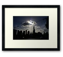 Afternoon Streetscape Framed Print