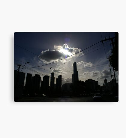 Afternoon Streetscape Canvas Print