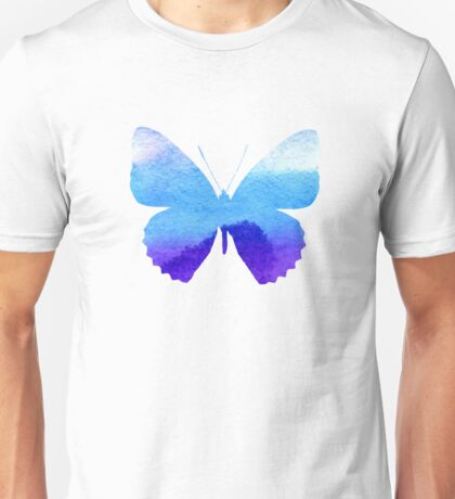 Watercolor Butterflies 3 Unisex T-Shirt