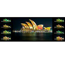 Changing Chameleon - SOH during Vivid - Panorama Series Photographic Print