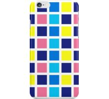 square summer on white iPhone Case/Skin