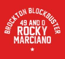 Rocky Marciano - Letterpress Kids Clothes