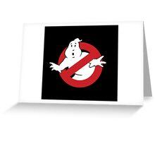 GhostBusters - OG Ghost Busting Logo Greeting Card