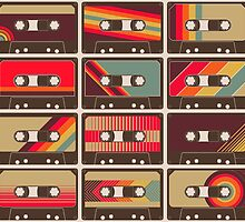 Mixed Tapes by geekchic  tees