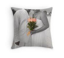 Michelle & Howard Throw Pillow