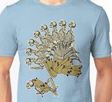 Skeleton desending a Skateboard Unisex T-Shirt