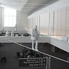 Airport Tightrope Walk by Jonathan  Green