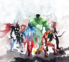 The Avengers by Dnx-Drift