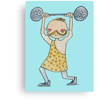 Strongman weightlifter   Canvas Print