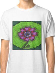Flower Green Classic T-Shirt