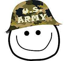 U.S. Army Smiley Photographic Print