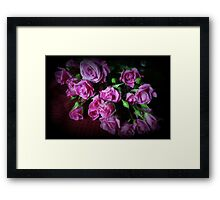 Stop And Smell The Roses Framed Print