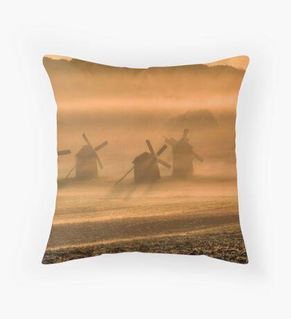 windmills Throw Pillow