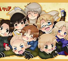 Hetalia Group by SaMelodii