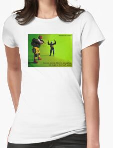 Caught you! Womens Fitted T-Shirt