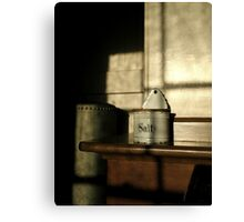 """SALT BOX"" Canvas Print"